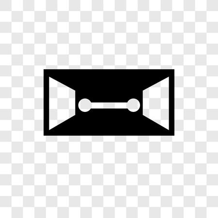 Icona di vettore del fascicolo isolato su sfondo trasparente, concetto del logo di trasparenza del fascicolo