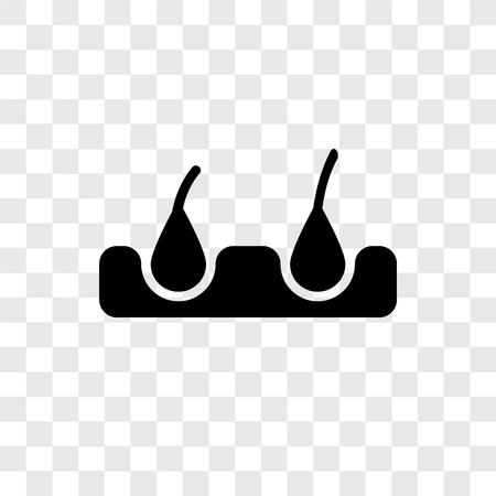 Icono de vector de cera aislado sobre fondo transparente, concepto de logo de transparencia de cera Logos