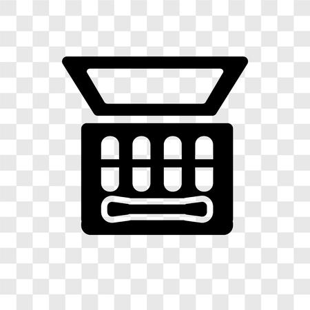 Lidschatten-Vektor-Symbol auf transparentem Hintergrund isoliert, Lidschatten-Transparenz-Logo-Konzept Logo