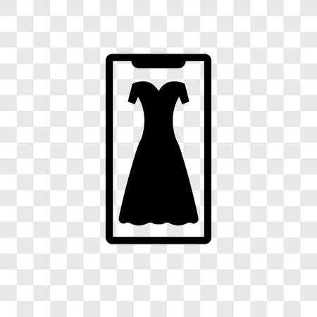 Fashion vector icon isolated on transparent background, Fashion..