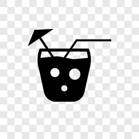 Mai tai vector icon isolated on transparent background, Mai tai transparency logo concept