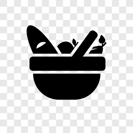 Picnic basket vector icon isolated on transparent background, Picnic basket transparency logo concept