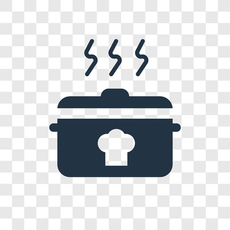 Cooking vector icon isolated on transparent background, Cooking transparency logo concept
