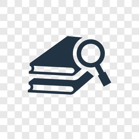 Icône de vecteur de recherche isolé sur fond transparent, concept de logo de transparence recherche Logo