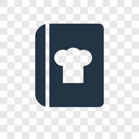 Recipe vector icon isolated on transparent background, Recipe transparency logo concept Standard-Bild - 112281578
