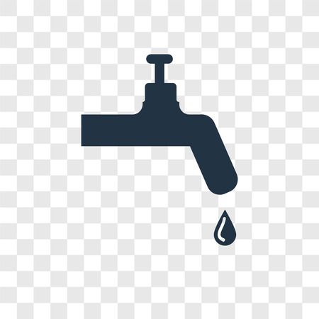 Tap vector icon isolated on transparent background, Tap transparency logo concept Standard-Bild - 112356351