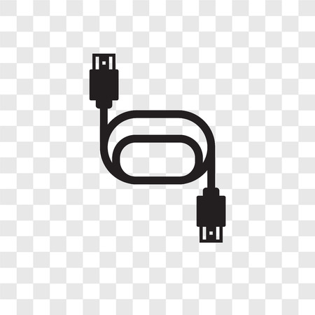 Hdmi vector icon isolated on transparent background, Hdmi transparency logo concept