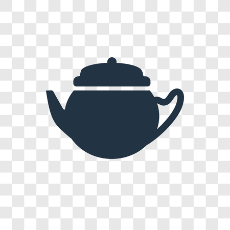 Kettle vector icon isolated on transparent background, Kettle transparency logo concept Standard-Bild - 112358961