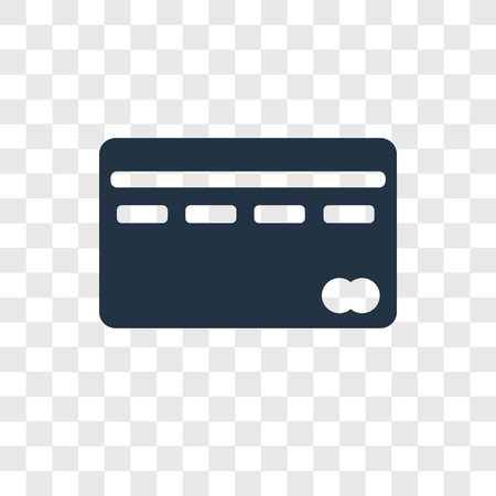 Cit Card vector icon isolated on transparent background, Cit Card transparency logo concept Illusztráció