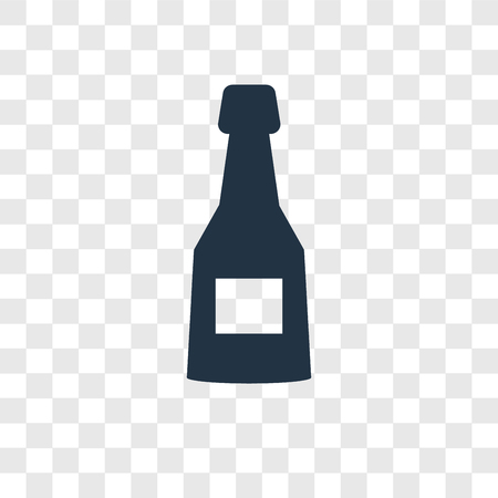 Cognac vector icon isolated on transparent background, Cognac transparency logo concept 스톡 콘텐츠 - 112442481