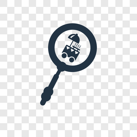 Search vector icon isolated on transparent background, Search transparency logo concept
