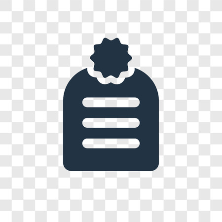 Agenda vector icon isolated on transparent background, Agenda transparency logo concept Illustration