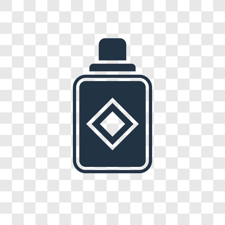 Icône de vecteur de parfum isolé sur fond transparent, concept de logo de transparence parfum