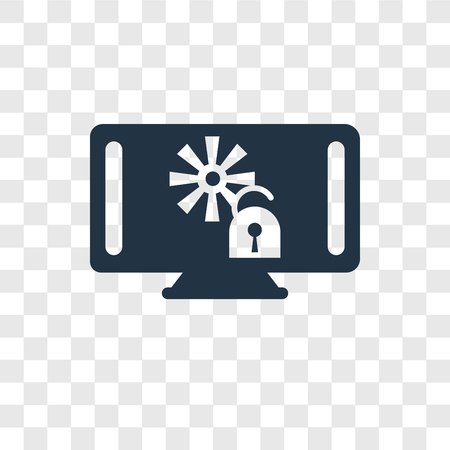 Air conditioner vector icon isolated on transparent background, Air conditioner transparency logo concept Illustration