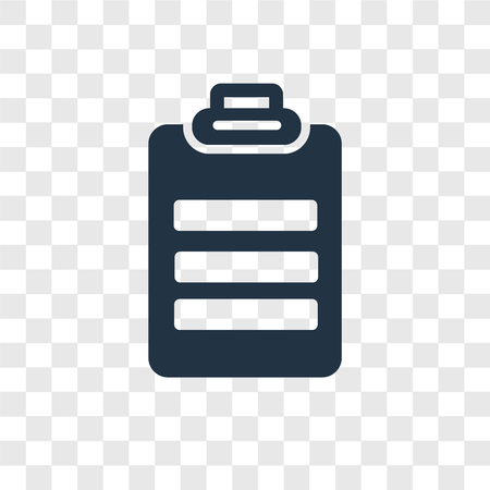 Icône vecteur Padnote isolé sur fond transparent, notion de logo de transparence Padnote Logo