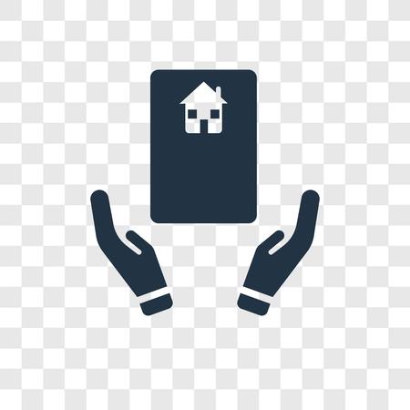 Deal vector icon isolated on transparent background, Deal transparency logo concept Ilustração