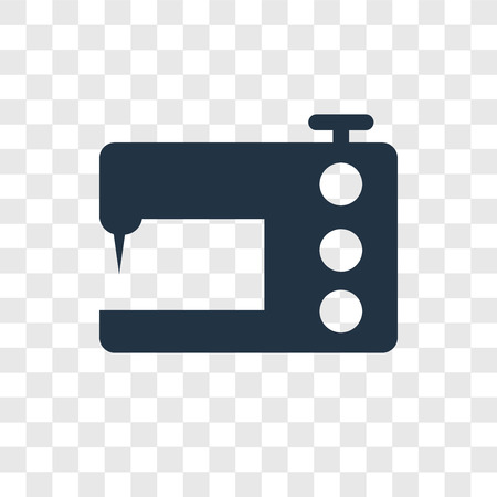 Sewing Machine Vector Icon Isolated On Transparent Background Enchanting Sewing Machine Vector Free