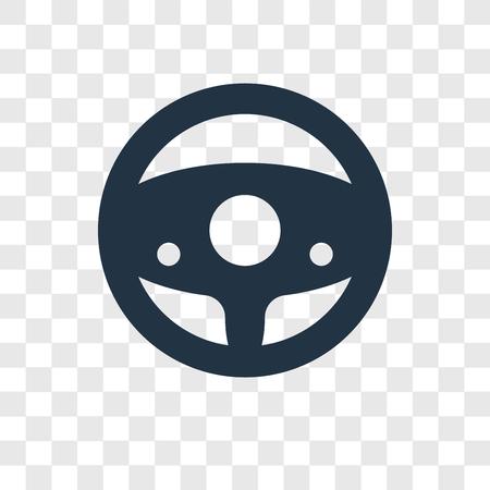 Chauffeur vector pictogram geïsoleerd op transparante achtergrond, Chauffeur transparantie logo concept Logo