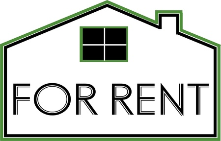 for rent Stock Vector - 20106819