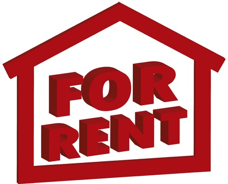 for rent Illustration