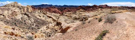 state park: Panorama of Valley of Fire State Park, Nevada