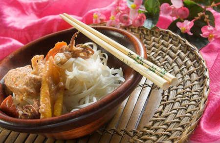 タイの魚カレー