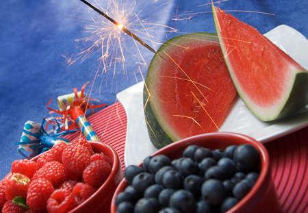 juli: patriottische picknick
