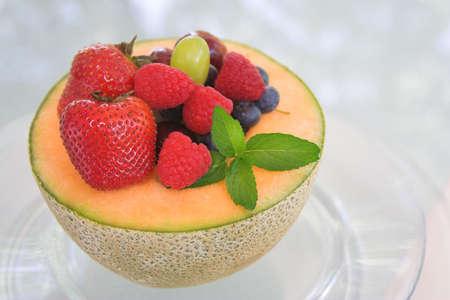 フルーツ サラダ 写真素材