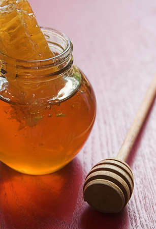 honey with honeycomb Stock Photo - 1827993