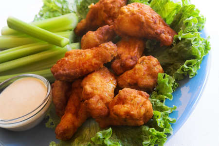 buffalo chicken wings photo