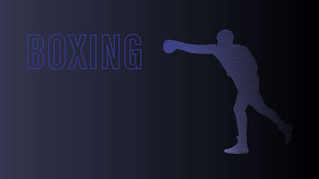 Boxing background