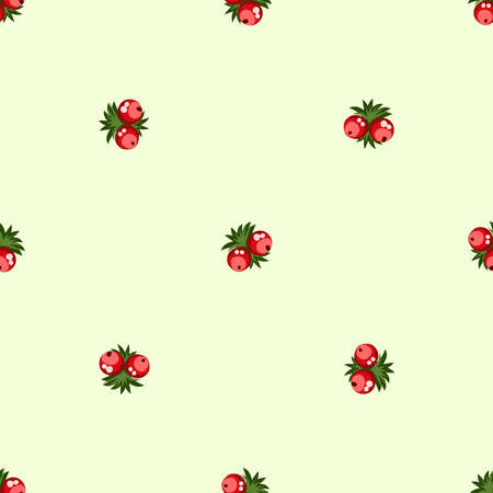 Seamless pattern of berries, flowers . Hand drawn floral ornament. Design for textile, paper, packaging, bedding from colorful doodle elements in folk style. Imagens - 153085144