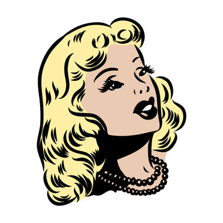 Ironic Satirical Illustration of a Retro Classic Comics book character