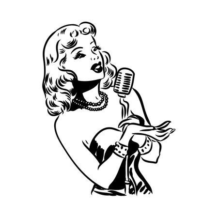 Ironic Satirical Illustration of a Retro Classic Comics book character Vetores