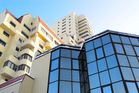 modern business center with panoramic windows Stock Photo - 6270032