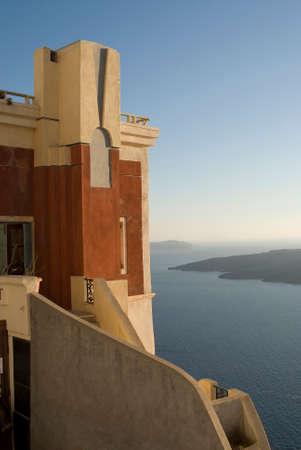 aegean: View in Santorini