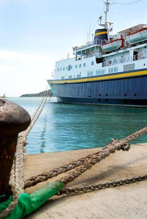 Port auf einer griechischen Insel.