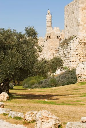 Outside the walls of the old cityJerusalem photo