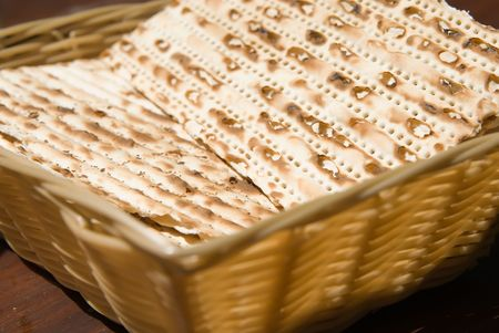Matza bread kosher for passover Stock Photo - 2988437