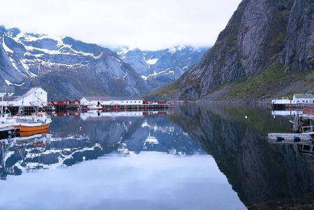 Norway, Lofoten northern part Stock Photo