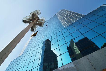 Moderne Glasgeb�ude Lizenzfreie Bilder