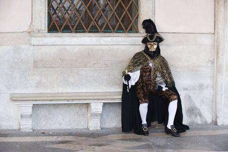Carnival in Venice  Stock Photo