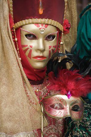 Carnival lady photo