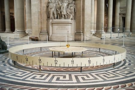 Foucault pendulum in Pantheon, Paris