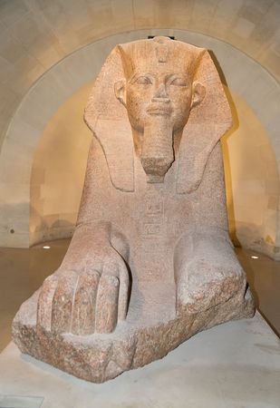 Egyptian sphinx Stock Photo - 4774035