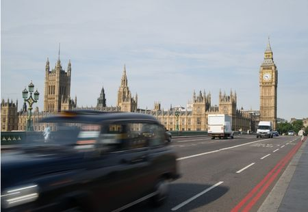 Traffic in London Stock Photo
