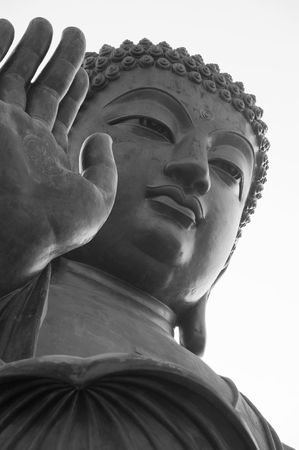 Portrait of the great Buddha