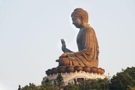 The great Buddha in Hong Kong