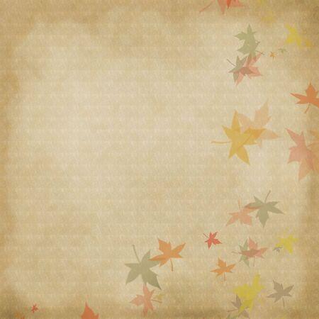 Autumn leaves background Stock Photo - 5738272