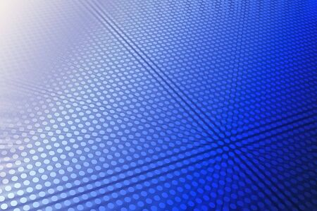 fade out: 3D abstract in blue Stock Photo